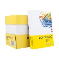 Хартия EuroBasic, A4, 80 гр, принтерна - ПАКЕТ 500 бр