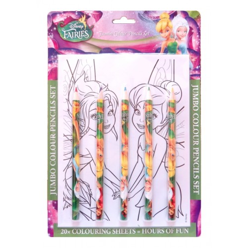 Дисни Феи / Disney Fairies / креативен комплект за оцветяване - Канцеларски материали за офиса и училището | Акварел