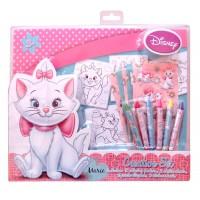 Дисни котка / Disney Marie / креативен комплект за оцветяване