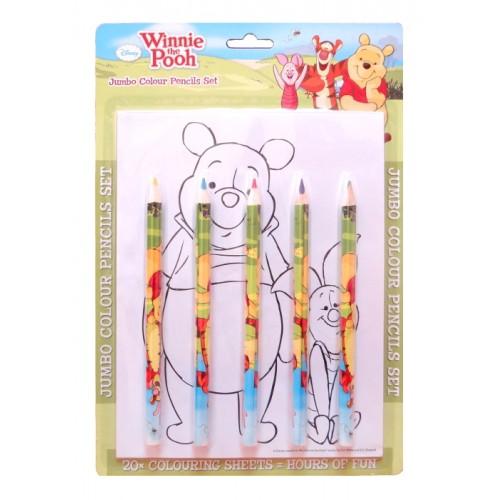 Дисни Мечо Пух / Disney Winnie the Pooh / креативен комплект за оцветяване - Канцеларски материали за офиса и училището   Акварел