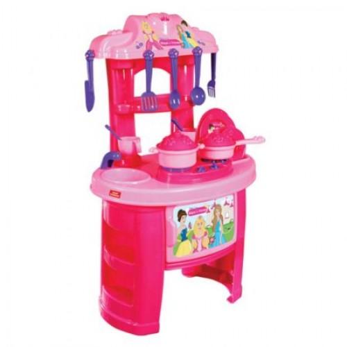 Детска кухня с аксесоари, пластмасова - Канцеларски материали за офиса и училището   Акварел