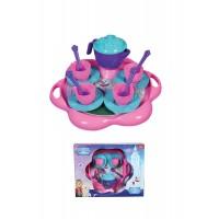 Детски комплект за чай Ice World, пластмасов