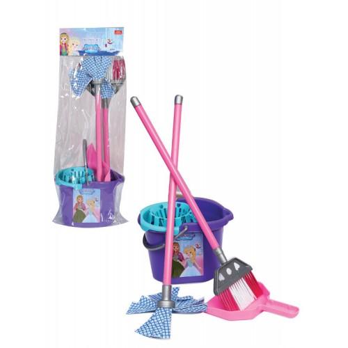 Детски комплект за почистване Ice World, пластмасов - Канцеларски материали за офиса и училището | Акварел