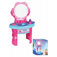 Детски комплект за разкрасяване Ice World, пластмасов, с огледало