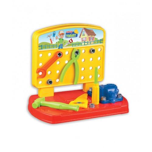 Детска настолна работилница с инструменти - Канцеларски материали за офиса и училището | Акварел