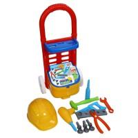 Детска работилница - количка с инструменти