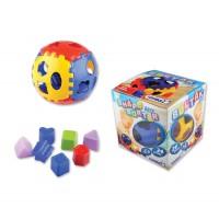 Интерактивна детска топка за игра, пластмасова - 24 фигури