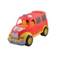 Пожарна кола, пластмасова - 28 см.