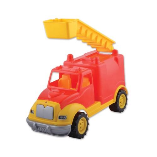Пожарна кола, пластмасова, камион - 30 см. - Канцеларски материали за офиса и училището | Акварел