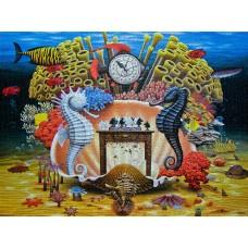 Пъзел 3000 ел. - Chess on the Reef