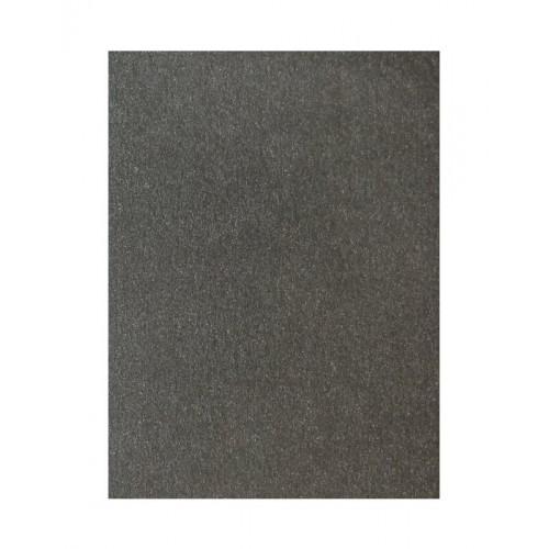 Цветен картон перла 50 х 70 см., 250 гр. цвят черен Majestic, модел 807 - Канцеларски материали за офиса и училището | Акварел