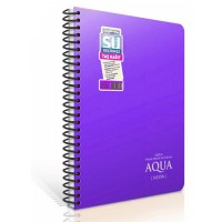 Водоустойчива тетрадка GIPTA AQUA NEON А6 80 листа, спирала PP корица