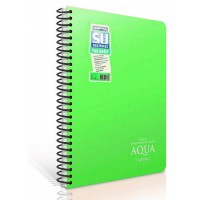 Водоустойчива тетрадка GIPTA AQUA NEON А4 80 листа, спирала PP корица