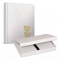 Луксозна сватбена книга GIPTA 20 х 28 см. 140 л. позлатени ръбове в магнитна кутия