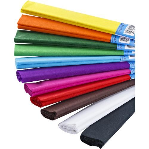 Хартия креп 50/200 см цветна NOVA COLOR 305 - Акварел | Канцеларски материали за офиса и училището