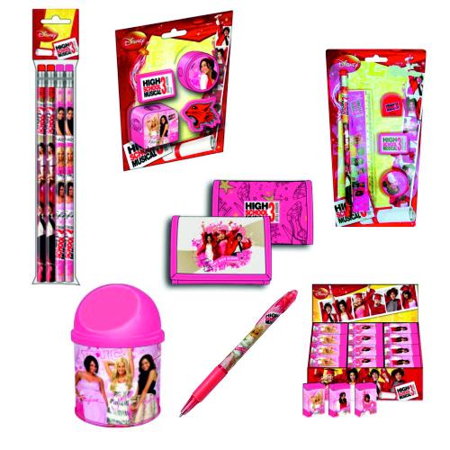 Комплект High School Musical - ученически пособия - Канцеларски материали за офиса и училището   Акварел