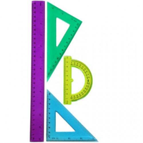 Комплект за чертане - цветен - Remex 2291