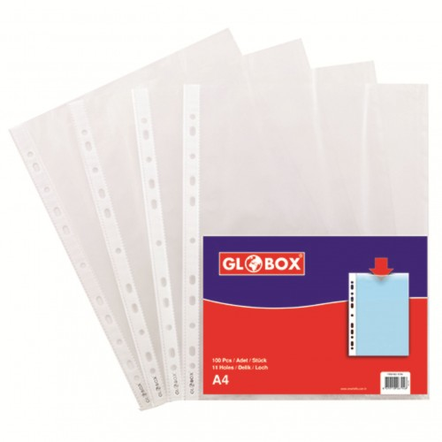 Джоб А4 GLOBOX 40μ - Акварел | Канцеларски материали за офиса и училището