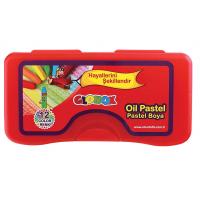 Пастели  Globox маслени 12 цвята в PVC кутия