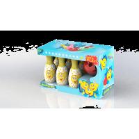 Детски комплект за боулинг 6 кегли и топка