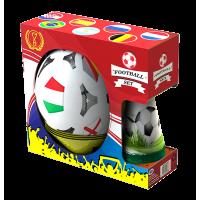 Футболен комплект WORLD CUP за деца, 4 цветни конуса + 4 маркера + топка