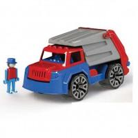 Камион за смет пластмасов 30см, в картонена кутия