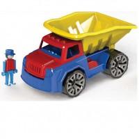 Камионче 30см, детско, пластмасово в картонена кутия