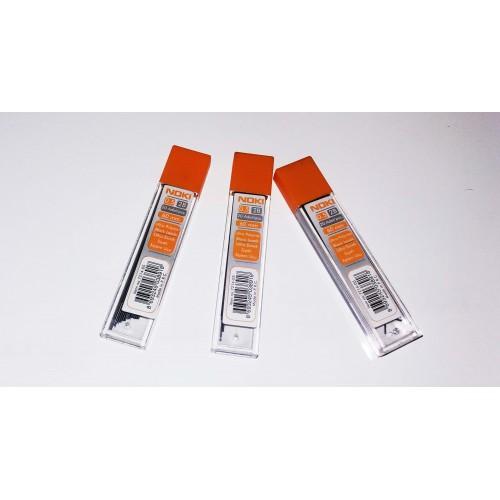 Мини графит Noki твърдост 2B, 0.5 мм, 0.7 мм и 0.9 мм