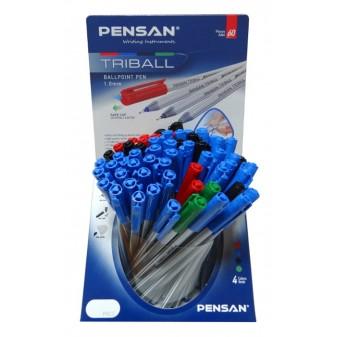 Дисплей химикал PENSAN Triball 1003 - 60 бр. 4 цвята - микс