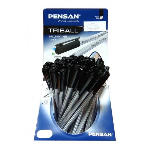 Дисплей химикал PENSAN Triball 1003 - 60 бр. цвят черeн - Канцеларски материали за офиса и училището | Акварел