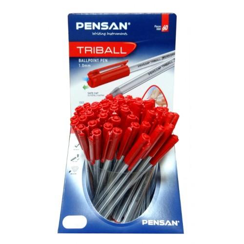 Дисплей химикал PENSAN Triball 1003 - 60 бр. цвят червен - Канцеларски материали за офиса и училището | Акварел