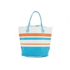 Плажна чанта PULSE AIYA NAPA LIGHT BLUE X20952 - шарена