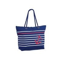 Плажна чанта PULSE MALTA DARK BLUE X20939 - тъмносиня