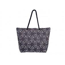 Плажна чанта PULSE MARRAKECH BLACK X20944 - черна