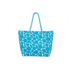 Плажна чанта PULSE MARRAKECH LIGHT BLUE X20942 - светлосиня