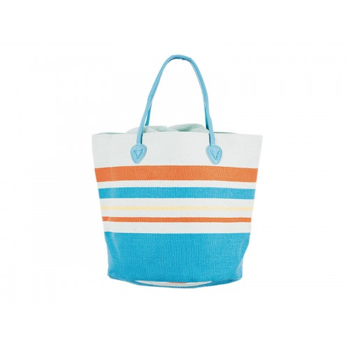 Плажна чанта PULSE AIYA NAPA LIGHT BLUE X20952 - шарена - Канцеларски материали за офиса и училището | Акварел