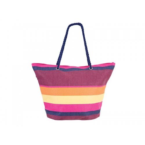 Плажна чанта PULSE RAMSAR PINK-YELLOW X20948 - шарена