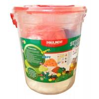 Тесто за моделиране Paulinda Super Dough 5 цвята х 200 гр. 1000 гр.