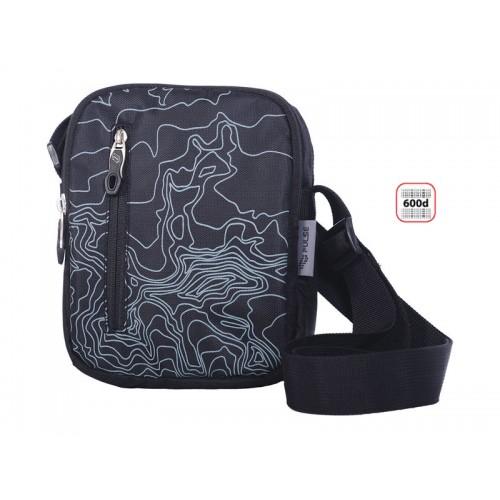 Чанта PULSE VISION X20425 сива с дълга презрамка - Канцеларски материали за офиса и училището   Акварел