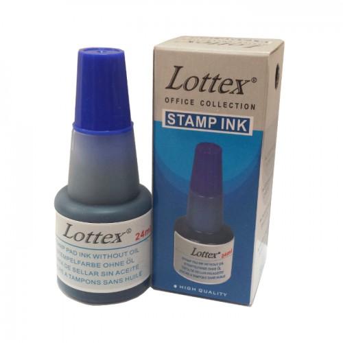 Тампонно мастило синьо LOTTEX - Канцеларски материали за офиса и училището   Акварел