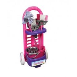 Детски комплект за почистване с количка - Акварел   Канцеларски материали за офиса и училището