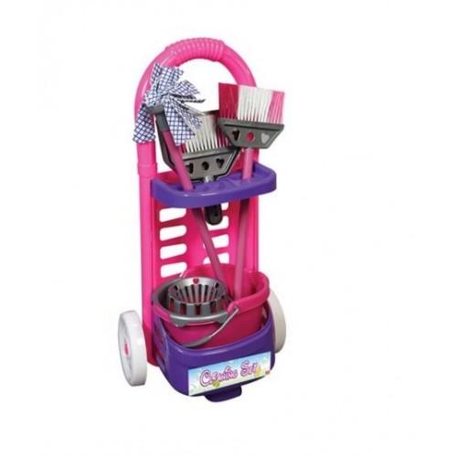 Детски комплект за почистване с количка - Акварел | Канцеларски материали за офиса и училището