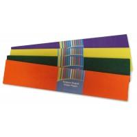 Хартия, 50 х 200 см, креп, цветна