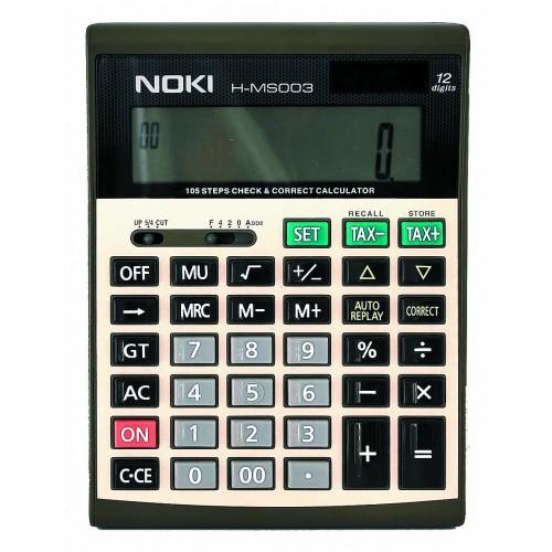 Калкулатор Noki H-MS003 12 разряден - Канцеларски материали за офиса и училището   Акварел