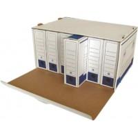 Кашон за архивни кутии бял 550 x 360 x 250 мм