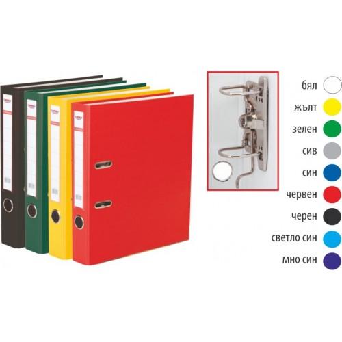 Класьор Noki за документи A4, 5см гръб, с метален кант - Канцеларски материали за офиса и училището | Акварел