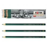 Моливи FATIH, от 8H до 8B