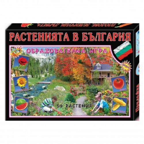 Растенията в България - образователна игра №10 - Акварел | Канцеларски материали за офиса и училището