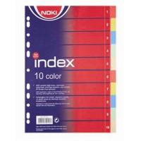 Разделител Noki картонен 2 х 5 цвята