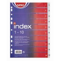 Разделител Noki PVC 1-10